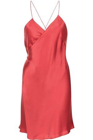 Michelle Mason Mulher Vestidos de Festa - Wrap mini dress