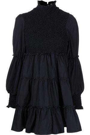 Cinq A Sept Ruffled-detail flared dress