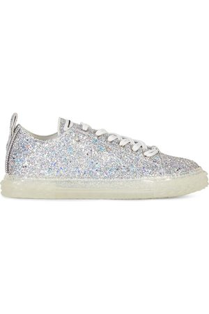 Giuseppe Zanotti Homem Tops & T-shirts - Blabber glitter low-top sneakers