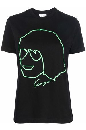 Kenzo Graphic-print short-sleeved T-shirt