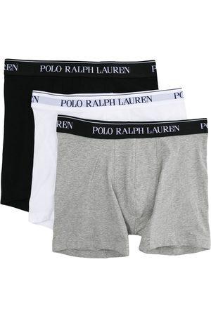Polo Ralph Lauren Logo waistband boxer briefs (set of three)