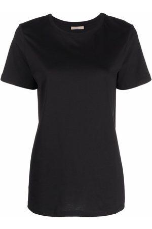 12 STOREEZ Mulher T-shirts - Round neck short-sleeved T-shirt
