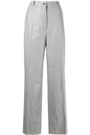 Loulou Studio Straight-leg leather trousers