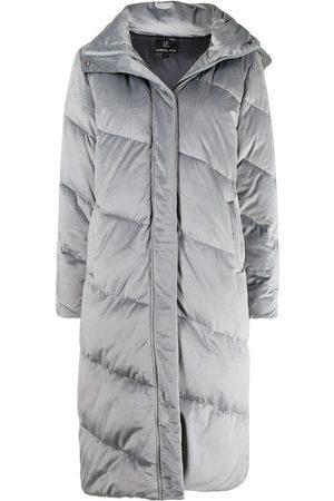 Unreal Fur Mulher Parkas - Concrete Jungle midi coat