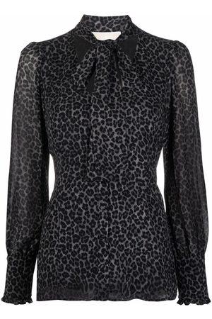 Michael Kors Leopard-print blouse
