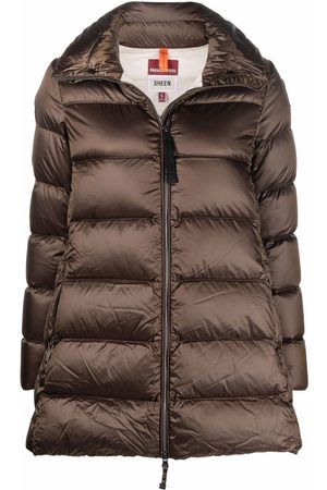 Parajumpers Logo-patch padded coat