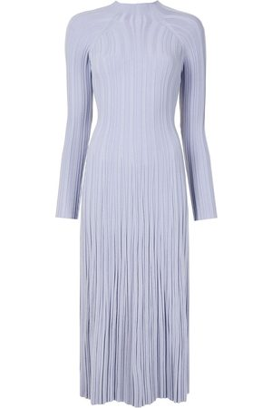 DION LEE Mulher Vestidos Casual - Pleated lung-twist midi dress