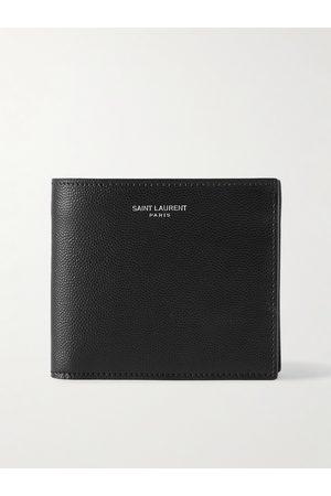 Saint Laurent Homem Bolsas & Carteiras - Pebble-Grain Leather Billfold Wallet