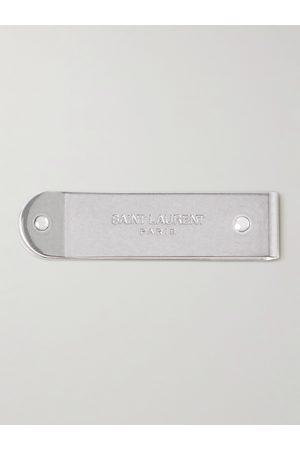 Saint Laurent Homem Bolsas & Carteiras - Logo-Engraved -Tone Money Clip