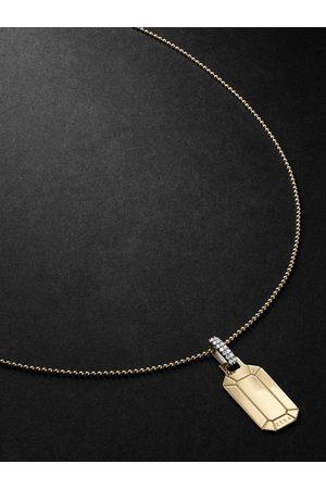 Eera Homem Colares - Tokyo Gold, Silver and Diamond Necklace