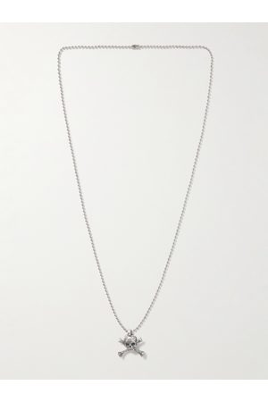 GALLERY DEPT. Homem Colares - Skull and Crossbone Small Pendant Necklace