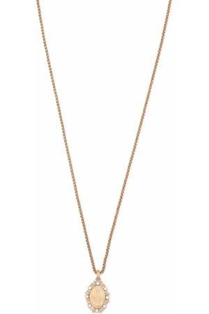 Dolce & Gabbana Homem Colares - Devotion pendant necklace