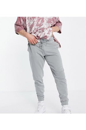 ASOS Homem Joggers - Co-ord tapered joggers with logo print in grey