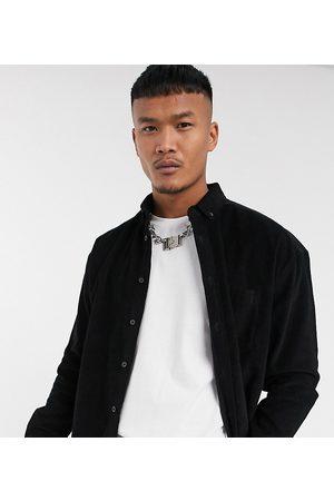 ASOS Homem Casual - 90's oversized cord shirt in black