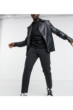 ASOS Homem Slim - Classic rigid jeans in washed black
