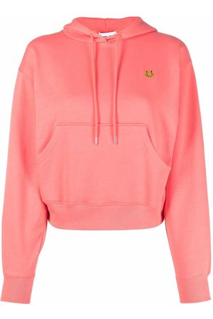 Kenzo Embroidered-logo pullover hoodie
