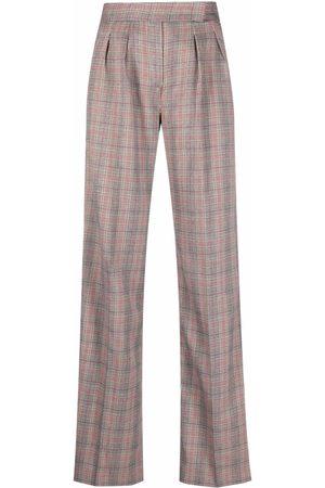 Liu Jo Check-print trousers