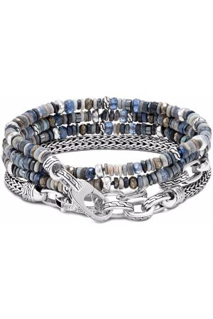 John Hardy Classic Chain transformable multi wrap beaded bracelet