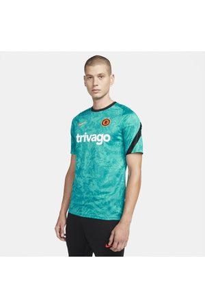 Nike Camisola de futebol do equipamento de aquecimento Dri-FIT Chelsea FC para homem