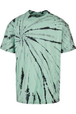 Urban classics Homem Formal - Camisa 'Boxy Tye Dye