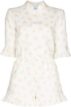 Sleeper Mulher Pijamas - Daisy-print pyjama set