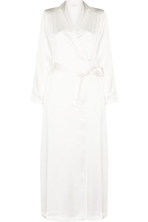 La Perla Mulher Roupões de Banho - Tied waist silk robe