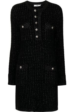 B+AB Mulher Vestidos Casual - Accent-button jersey-knit dress