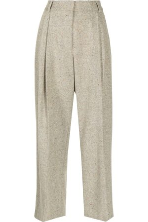MIRA MIKATI Mulher Calças Formal - Tailored tweed trousers