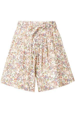 Kika Vargas Mulher Calções - Ela floral-print shorts