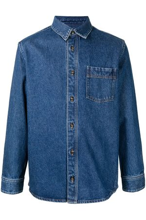 A.P.C. Long-sleeve denim shirt