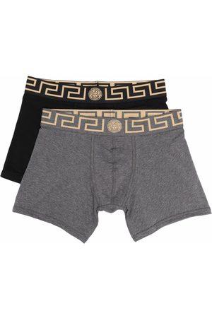 VERSACE Logo-waistband boxers set of 2