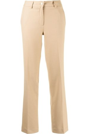Twin-Set Mulher Calças Formal - Cropped tailored trousers