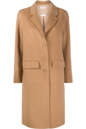 P.a.r.o.s.h. Mulher Casacos - Single breasted wool coat