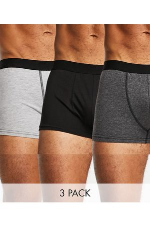 New Look Homem Meias - Trunks with contrast waistband in blue multi