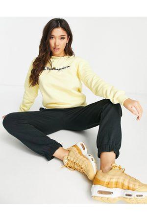 Champion Large logo sweatshirt in yellow