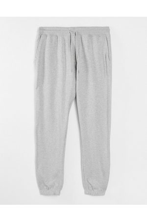 SELECTED Homem Joggers - Co-ord joggers in light grey