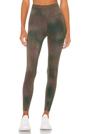 Free People X FP Movement Beat The Heat Reversible Legging in - Green. Size L (also in M, S, XS).