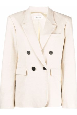 Isabel Marant Mulher Blazers - Double-breasted tailored blazer