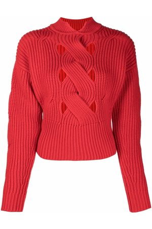 Patou Mulher Camisolas - Ribbed knit jumper