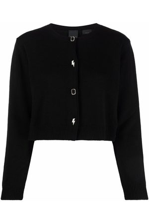 Pinko Cropped knitted cardigan