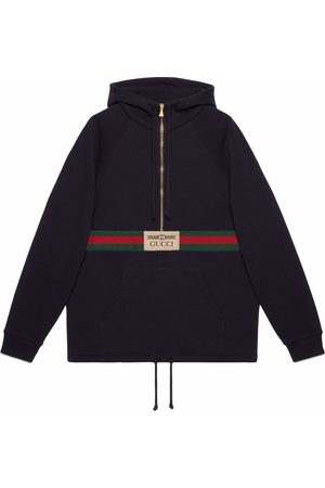 Gucci Logo-patch long-sleeve top