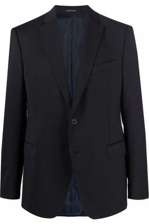 Emporio Armani Fitted single-breasted blazer