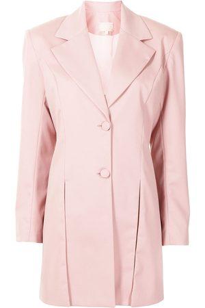 Liya Mulher Blazers - Box pleat detail blazer