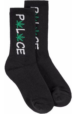 Palace Homem Meias - Pwlwce embroidered socks