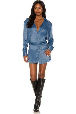 ATOIR Mulher Vestidos Casual - Eira Shirt Dress in - Slate. Size L (also in XS, S, M).