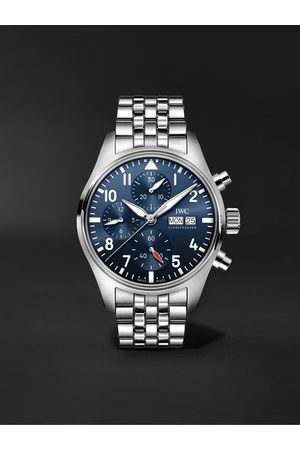 IWC SCHAFFHAUSEN Pilot's Automatic Chronograph 41mm Stainless Steel Watch, Ref. No. IW388102