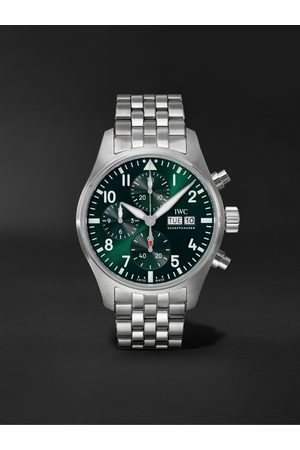 IWC SCHAFFHAUSEN Pilot's Automatic Chronograph 41mm Stainless Steel Watch, Ref. No. IW388104