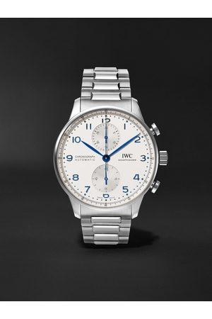 IWC SCHAFFHAUSEN Homem Relógios - Portugieser Chronograph 41mm Stainless Steel Watch, Ref. No. IW371617
