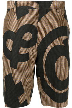 Moschino Homem Bermudas - Symbol print shorts