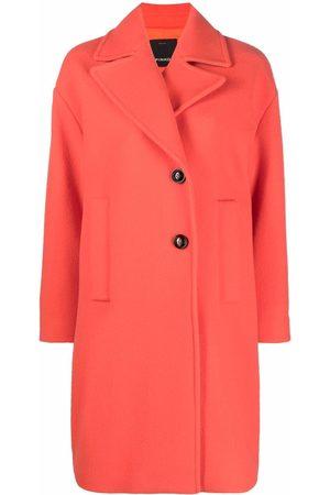 Pinko Single-breasted wool-blend coat